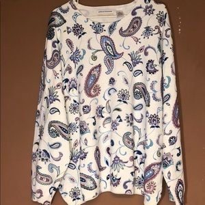 Alfred Dunner Sweater Size 3X NWT New